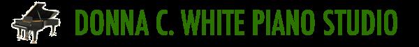 Donna C White Piano Studio Logo